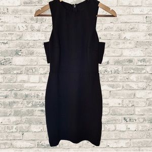🆕 H&M Black Sleeveless Side Cutout Fitted Dress